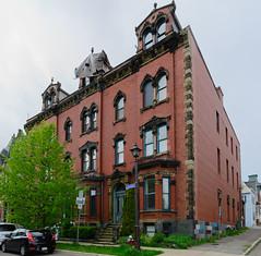 75, 77, 79 Orange Street (rickmacewen) Tags: heritagearchitecture architecture saintjohn newbrunswick building canada