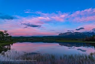 Twilight at Maskinonge Lake (June 2018)