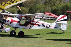 G-DEEZ_01 (GH@BHD) Tags: gdeez denney kitfox kitfoxmk3 denneykitfoxmk3 pophammicrolighttradefair2018 pophamairfield popham aircraft aviation