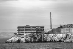 Escape from Alcatraz (Thomas Hawk) Tags: alcatraz america bayarea california sf sfbayarea sanfrancisco usa unitedstates unitedstatesofamerica bw us fav10 fav25 fav50