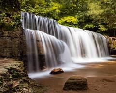 Hidden Falls (CanonDLee) Tags: forest hiddenfalls hiking leebigstopper longexposure mn minnesota nerstrandbigwoodsstatepark park rock rocks slow state travel water waterfall