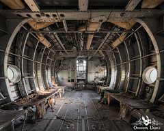 War Planes, France (ObsidianUrbex) Tags: abandoned airplanes photography urban exploration urbex war planes airlines france