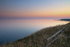 HFF (jillyspoon) Tags: fence fencefriday hff happyfencefriday scotland southwestscotland dumfriesandgalloway sea coast seascape monreith sunset dusk wigtownshire