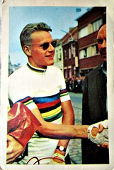 1964 Jan Janssen (Sallanches 1964) Tags: collectioncardscyclists janjanssen 1964 worldchampionroadcycling