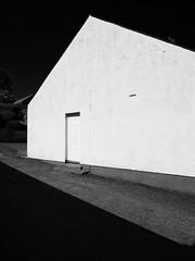 Doorway in the Sperrins (Feldore) Tags: light shadows door gables gable doorway sperrins cranagh northern ireland irish abstract feldore mchugh em1 olympus tyrone mono