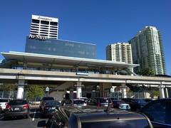 Jacksonville, FL - Skyway (Stabbur's Master) Tags: jacksonville florida tram publictransit publictransportation peoplemover skyway jacksonvilleskyway jacksonvillepeoplemover riverplace riverplacestation skywaystation