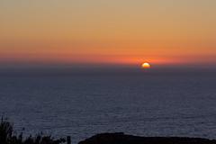 Sunset (kurjuz) Tags: fommirrihbay malta blue landscape orange pastelcolours sea seascape silhouette sun sunset yellow