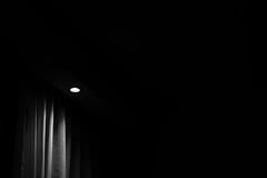 Just Light (Jontsu) Tags: light minimal minimalistic curtain shadow nikon d7200 50mm blackandwhite bw