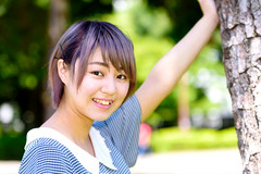 Pretty Girl at The Park : 公園で美少女に… (Dakiny) Tags: 2018 summer july japan kanagawa sagamiono park sagamionocentralpark outdoor city street friend family people portrait woman girl bokeh nikon d750 sigma apo 70200mm f28 ex hsm apo70200mmf28dexhsm sigmaapo70200mmf28dexhsm
