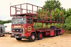 Traylens Two (ekawrecker) Tags: truck lorry fun fair amusements fairground brocas