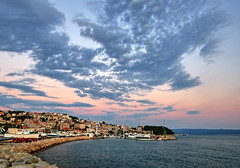Croatia (Vest der ute) Tags: g7xm2 g7xll croatia sea sky clouds boats houses sunset bay fav200 fav25