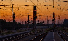 Every Time We Say Goodbye (Anna Kwa) Tags: augsburg sunset dusk hauptbahnhof tracks train annakwa nikon d750 2401200mmf40 my goodbye always seeing heart soul throughmylens cry smile life journey fate earth destiny round travel world memories coleporter everytimewesaygoodbye nataliecole