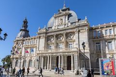 Palacio Consistorial Facade (dcnelson1898) Tags: cartagena spain coast port cruise travel vacation hollandamericaline oosterdam mediterraneansea