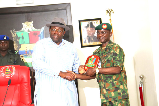 HSDickson- Courtesy Call With Army War College Nigeria 20th June 2018