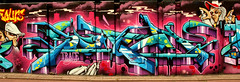 graffiti in Eindhoven (wojofoto) Tags: eindhoven nederland netherland holland berenkuil stepinthearena wojofoto wolfgangjosten graffiti streetart
