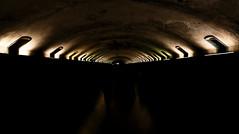 Le triomphe (FlyntoFlynt) Tags: tunnel lumière sombre noir
