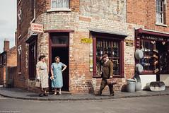 (Articdriver) Tags: dudley birmingham blackcountrymuseum street 1930s gentleman housewife shops road westmidlands uk england