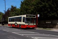 Bramhope B10 (ccoultas) Tags: m393vwx bus yorkshire west leeds bramhope district harrogate 365 36 26 strider b10 volvo