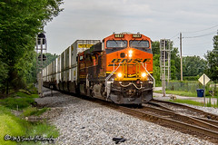 BNSF 6837 | GE ES44C4 | NS Memphis District West End (M.J. Scanlon) Tags: 264 bnsf6837 bnsfrailway burlingtonnorthernsantafe business canon capture cargo commerce container digital eos es44c4 engine freight ge haul horsepower image impression intermodal landscape locomotive logistics mjscanlon mjscanlonphotography merchandise mojo move mover moving ns ns264 nsmemphisdistrict norfolksouthern outdoor outdoors perspective photo photograph photographer photography picture rail railfan railfanning railroad railroader railway rossville rural scanlon steelwheels super tennessee track train trains transport transportation view westend wow ©mjscanlon ©mjscanlonphotography