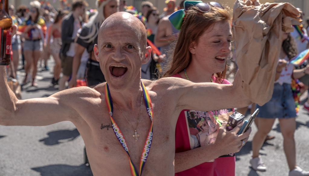 ABOUT SIXTY THOUSAND TOOK PART IN THE DUBLIN LGBTI+ PARADE TODAY[ SATURDAY 30 JUNE 2018] X-100210