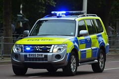 BX65 DVR (S11 AUN) Tags: london metropolitan police mitsubishi shogun anpr traffic car roads policing unit rpu 999 emergency vehicle metpolice bx65dvr