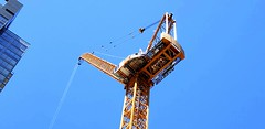 The Chassis of a Tower Crane (rve13) Tags: towercrane chassis galaxys9 lookup