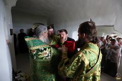 21. Рождество Иоанна Предтечи в пещерной церкви 07.07.2018