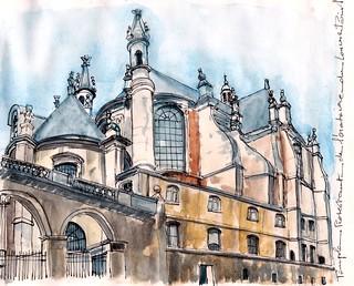 Temple protestant de l'oratoire du Louvre paris 1er