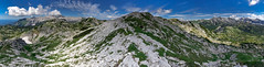 Julian Alps (happy.apple) Tags: ukanc radovljica slovenia si julijskealpe julianalps alps mountains summer landscape clouds panorama geotagged