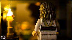 Enemy at the gates (The Aphol) Tags: afol lego starwars hut jedi lastjedi legography legophotography light luke minifigs minifigures night porg toy toyphotographers toyphotography thelastjedi skywalker