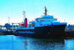 Scotland West Highlands Kintyre large car ferry Isle of Arran docked at Campbeltown 24 June 2018 by Anne MacKay (Anne MacKay images of interest & wonder) Tags: scotland west highlands kintyre caledonian macbrayne calmac car ferry isle arran dock docked campbeltown xs1 24 june 2018 picture by anne mackay