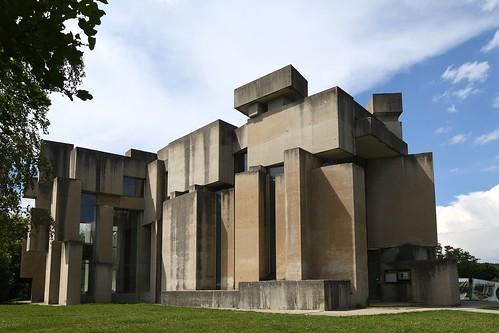 """Wien, Kirche zur Heiligsten Dreifaltigkeit (""""Wotrubakirche"""") (1976)"""