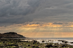 Lovely Light at West Runton (andybam1955) Tags: tide eveninglight beach landscape sunset clouds coastal westrunton sky northnorfolk rural evening norfolk sea