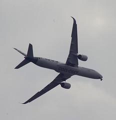 D18946.  Airbus A350-1000 XWB. (Ron Fisher) Tags: aircraft airliner airbus airbusa3501000xwb farnboroughairshow aeroplane airshow