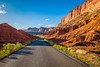 Capitol Reef scenic drive 2 (rdpe50) Tags: landscape road scenicdrive rockformations goldenhour capitalreefnationalpark utah usa