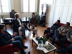 15/06/18 - Visita à Prefeitura de Dom Pedrito/RS. Com o prefeito Mario Augusto, o vice-prefeito Alberto Rodrigues, e amigos da região.