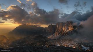 Lagazuoi - a Moody Mountain