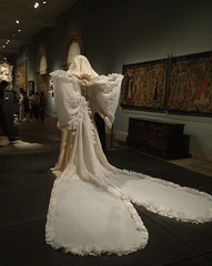 Yves Saint Laurent (battyward) Tags: met heavenly bodies fashion couture nyc catholic imagination ysl weddingdress