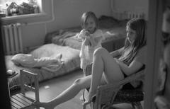 Scan-180624-0001 (Oleg Green (lost)) Tags: kids summer country home film 35mm bw blackandwhite rf rangefinder kodak academy 200 expired bessat voigtlander ultron1735