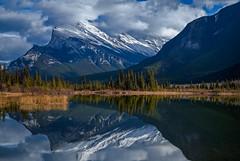 Mt Rundle of Banff (Robert R Grove 2) Tags: banff canada mountains rockies landscape reflection lakes robertrgrove ulitimatephotographers greatestphotographers