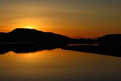 Sun set, Bellanoch. (alanpitman703) Tags: sunset argyllandbute argyll scotland
