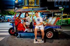 Bangkok Tuk Tuk Prenuptial (NET-Photography | Thailand Photographer) Tags: bangkok bkk chinatown th tha thailand yaowarat netphotography photographer photography professional service wedding documentary prewedding prenuptial honeymoon session nikon best postwedding couple love asia asian destination popular thai local