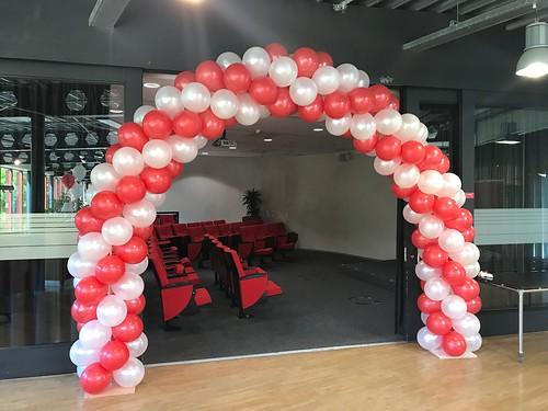 Ballonboog 7m Diplomauitreiking Hoge School Rotterdam