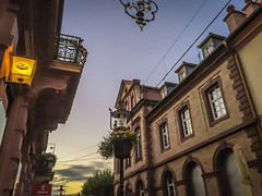 Old Town (SteWie318) Tags: ifttt 500px old town city summer evening houses balcony dusk light