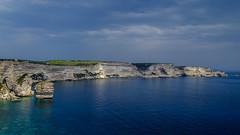 Bonifacio coast view (Funkraft) Tags: bonifacio corsica korsika küste coast riff see europe meer felsen