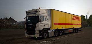 Leased 2007 Scania R500 for Arkadia Transport [ETS2]