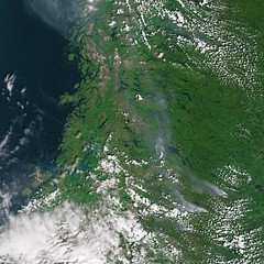 Smoke from fires in Sweden (europeanspaceagency) Tags: esa europeanspaceagency space universe cosmos spacescience science spacetechnology tech technology earthfromspace observingtheearth earthobservation satelliteimage copernicus sentinel sweden fire wildfires smoke sentinel3