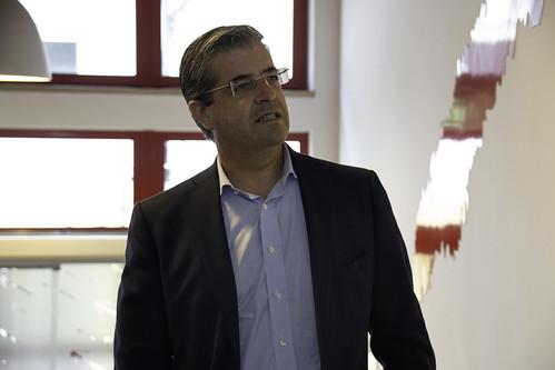 Álvaro Amaro em Tondela