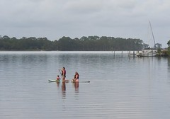 Going Out (donna_0622) Tags: bayou fl florida summer vacation nikon d750 paddling mother daughters