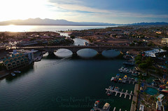 Lake Havasu AZ (ChrisN02) Tags: arizona arizonaoasis blussky boats bridge coloradoriver desert lake lakehavasu lakehavasusunset london londonbridge robertpmccaulloch sky sunset water dji sparks drone uav